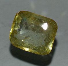 5.19CT Yellow Topaz Odisha Mines Cushion Shaped Awesome Quality Natural Gem YTC1 #AstroKapoor