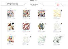 Dune Emphasis Ceramics Dune #Luxury #Mosaic  #Tile #Architecture