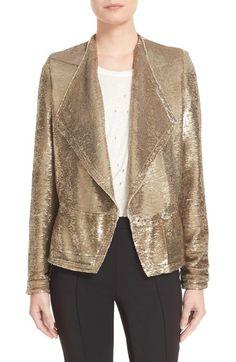 IRO Sequin Jacket. #iro #cloth #
