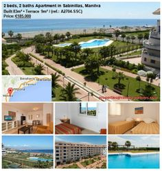 Originally listed at €210,000 and now reduced to €185,000. An excellent 2 bedroom apartment on a fabulous beachfront complex in the highly sought-after area of Manilva. The property is in perfect condition and ready to move into. It is just a couple of minutes´ walk from local amenities and the centre of Sabinillas.The ideal holiday home, the property has stunning sea views and direct access to the promenade and beach and boasts beautiful communal gardens and pools…