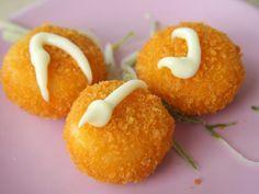 Croquettes au poulet ou à la dinde : Recette de Croquettes au poulet ou à la dinde - Marmiton