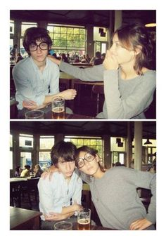 tbt Alex Turner and Alexa Chung