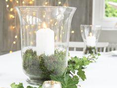 LARGE FRENCH GLASS HURRICANE LAMP CANDLE HOLDER VOTIVE LANTERN CHRISTMAS TABLE