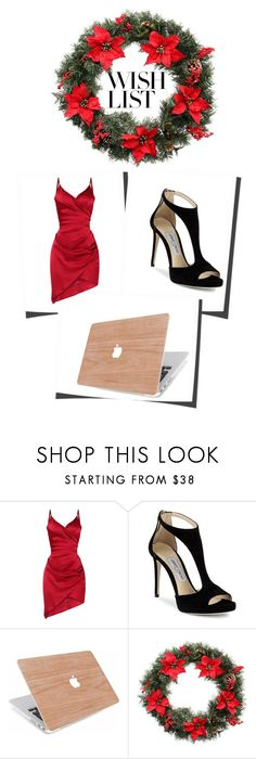 """""""#PolyPresents: Wish List"""" by pinkyeditions ❤ liked on Polyvore featuring Jimmy Choo, Martha Stewart, contestentry and polyPresents"""