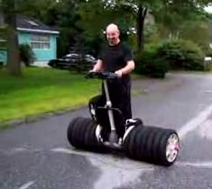 Street Use: Monster Segway