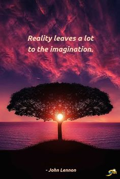 """Reality leaves a lot to the imagination."" - John Lennon  http://theshiftnetwork.com/?utm_source=pinterest&utm_medium=social&utm_campaign=quote"