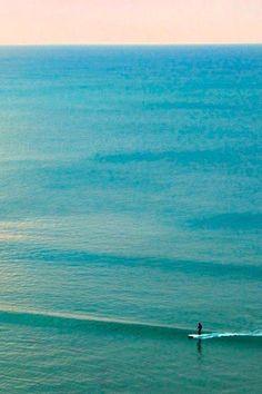 """de surfar, ondas pequenas """"é claro"""""""
