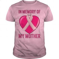 Breast Cancer In Memory Of Mom My Mother - #mens t shirts #the first tee. ORDER HERE => https://www.sunfrog.com/Funny/Breast-Cancer-In-Memory-Of-Mom-My-Mother-Light-Pink-Guys.html?60505