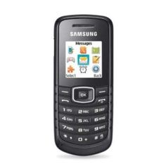 Samsung GT-E1086i Unlocked Dual-Band Phone with FM Radio, MP3 Ringtones, Organizer, SMS and Mobile Tracker - Unlocked Phone - US Warranty - Black, Price: 	$29.04