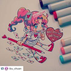 @ibu_chuan Feliz san valentin Este año quise hacer una personificación de una…