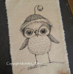 Michelle Palmer Christmas Owl