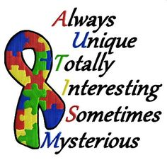 Autism Machine Embroidery design by davinasdesigns on Etsy, $3.50#Repin By:Pinterest++ for iPad#