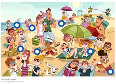 Naar het strand by Paula Prevoo