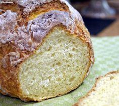 Das perfekte Schnelles Quarkbrot-Rezept mit Bild und einfacher Schritt-für-Schritt-Anleitung: Das Mehl mit dem Zucker, dem Salz und dem…