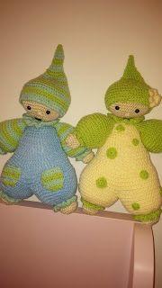 o meu cantinho 75: bonequinhos em crochet