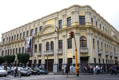 Melico Salazar's Theater built 1928, at San Jose , Costa Rica owned by family Raventos, moviehouse, theatre,