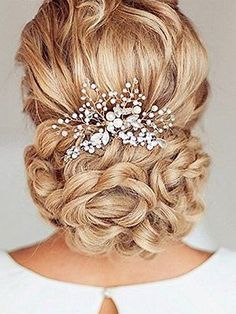 Venusvi-Silvery-Wedding-Hair-Combs-with-Bead-and-Rhinestones-Bridal-Headpiece