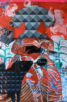 """Saatchi Art Artist Rusudan Khizanishvili; Painting, """"Geometric mind"""" #art"""