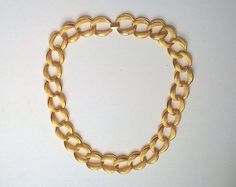 Napier Necklace Extra Chunky Gold Tone Chain 24 by GleamingKist