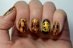 Hunger Games nails!!!