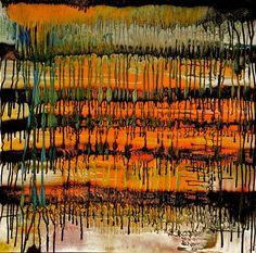 "Saatchi Art Artist: Michael Rafferty; Spray Paint 2013 Painting ""Cave Painting No.3"""