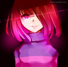 Betty - Fear. [Glitchtale](other version) by Kiacii on DeviantArt