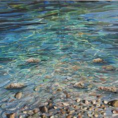 Ripples in the water - Cornish Art Gallery / Sophi Beharrell