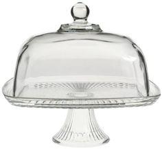 Anchor Hocking Union Square Cake Dome: Amazon.com: Kitchen & Dining