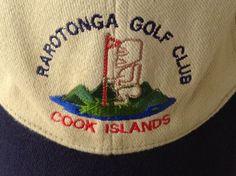 Tiki God Golf Hat Rarotonga Cook Islands Tan Cloth Strap Unisex Baseball Cap #Unbranded #BaseballCap