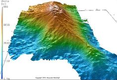 Digital Terrain Model of Loihi Seamount