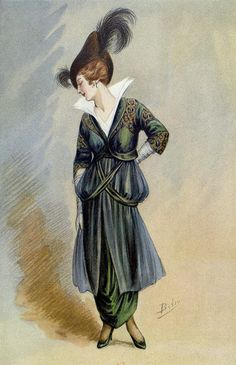 1914 - Premet dress in Les Modes May