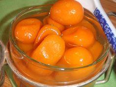 Conserva dulce de kumquat (Naranjitas chinas)