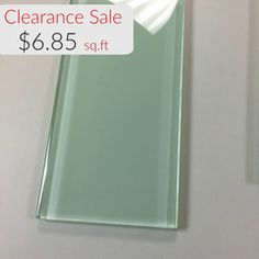 "4"" x 12"" Glass Subway Tile - Bottle Green $6.85 per square foot"