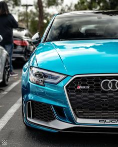 """😍Closeup of a very beautiful Rate this Audi from . Get off Audi tuning parts with Code """"audilover"""" and support this page❤️ . By photo . My partner pages: . Audi Sport, Sport Cars, Audi Rs3, Luxury Garage, Air Ride, Sport Photography, Concept Cars, Dream Cars, Racing"""