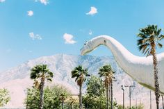 The Cabazon Dinosaurs Cabazon Dinosaurs, Plastic Dinosaurs, Largest Dinosaur, Places In California, Eurotrip, Jurassic Park, Abandoned Places, Palm Springs, Places To See