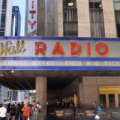 🎵💵Radio City Music Hall 📻🎵 × × #newyork #newyorkcity #tv_architectural #wakacje #holidays #nyclife #urban #architecture #architektura #skyscraper #vsconyc #citylife #traveldiaries #newyork_instagram #ig_nycity #everyday_shooter #usaprimeshot #exclusive #radio #l4l #wakacje2016 #citybestviews  #streetphotography #streetcollectors #neon #radiocity