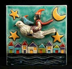 WENDY ANDERSON...clay tiles