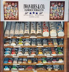 Oldest Tobacco Shop and Oldest Family-Owned Business? Iwan Ries & Co., 1857!! (Oldest Chicago, Day 11).
