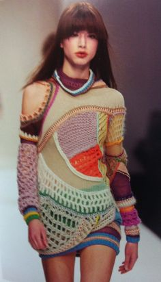 Clare Tough circa 2004: the collection that sparked my knitwear affair #knitspiration