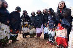 22. Borana ceremonial dance - Kenia