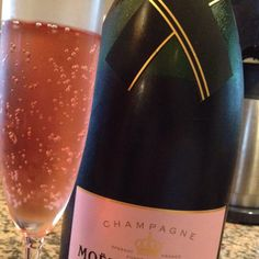 Pink champagne!