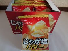 From Japan,Fried Potatoes Snacks,Salt and Butter Flavor,SET of 20pcs