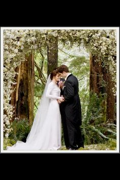 Another one of my guilty pleasures!!! I know there are a lot of haters but this franchise are a part of my all time favorite movies and books!!!!! Twilight wedding