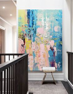 Abstract Painting Ideas On Canvas, Diy Canvas Art, Abstract Art Paintings, 3 Canvas Paintings, Oil Pastel Paintings, Oil Pastel Art, Modern Art Paintings, Abstract Oil, Painting Art