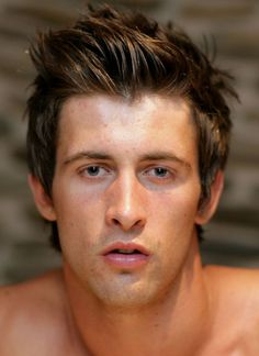 Picture Gallery of Men's Hairstyles - More Medium Length Hairstyles for Men: Gelled up