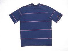1970s Hang Ten T-Shirt Vintage Mens Navy by NormalAveVintage