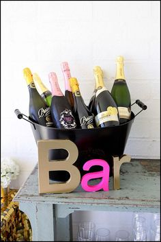 {BN Black Book of Parties} Fabulous 40th Birthday Party | A Blissful Nest