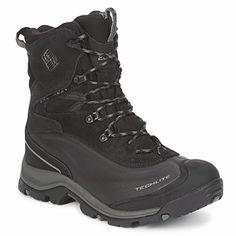 Columbia BUGABOOT PLUS Negro Botas de senderismo para hombre. Men walking boots. bottes de randonnée pour homme.  https://www.facebook.com/bagatelleoficial Bagatelle Marta Esparza #botas #senderismo #hombre
