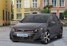 Alpine Headunits for Volkswagen Alpine Style, Vw Crafter, Digital Radio, Volkswagen Polo, Android Auto, Golf, Turtleneck