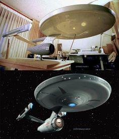 "Has anyone else seen this ""Phase II"" Enterprise??"